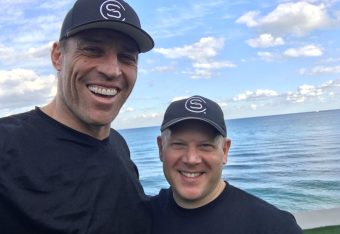 Tony Robbins with Tim Hodges, LMT, JSCCI, CACI